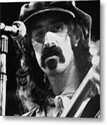 Frank Zappa - Watercolor Metal Print