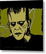 Frankenstein 31' Metal Print