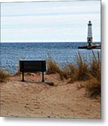 Frankfort Shore Metal Print
