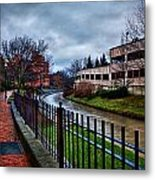 Franklin Park Metal Print by Everet Regal