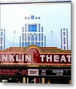 Franklin Theatre Metal Print
