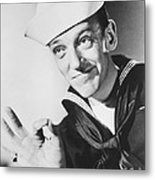 Fred Astaire In Follow The Fleet  Metal Print