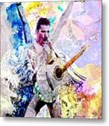 Freddie Mercury - Queen Original Painting Print Metal Print