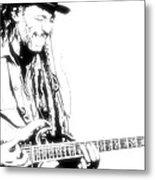 Freddy And His Guitar Metal Print