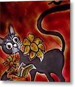 Freddy The Cat Metal Print