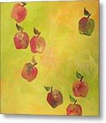 Free Apples Metal Print