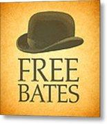 Free Bates Metal Print