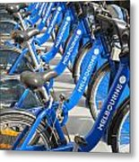 Free Bicycle System In Melbourne Australia Metal Print