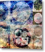 Free From Rules Metal Print