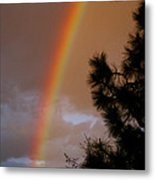 Free Rainbow 2 Metal Print