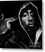 Free Will - 2 Pac Metal Print