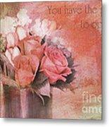 Freedom Flowers Metal Print