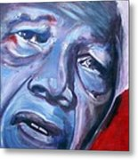 Freedom - Nelson Mandela Metal Print
