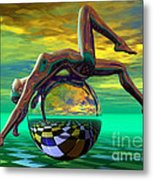 Freedom Of Expression Metal Print