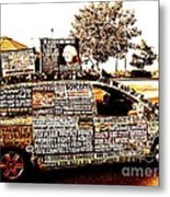 Freedom Of Speech On Wheels Metal Print by Desiree Paquette