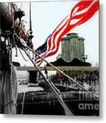 Freedom Sails Metal Print by Michael Hoard