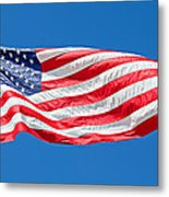 Freedom American Flag Art Prints Metal Print