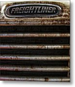 Freightliner Highway King Metal Print
