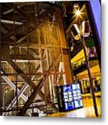 Fremont Street Structure Metal Print