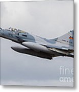 French Air Force Mirage 2000c Fighter Metal Print