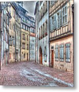 French Alley Metal Print