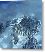 French Alps Metal Print