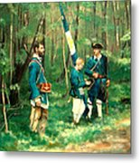 French And Indian War Metal Print