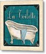 French Bath Metal Print