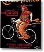 French Bicycles Metal Print