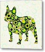 French Bulldog - Animal Art Metal Print