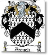 French Coat Of Arms Irish Metal Print