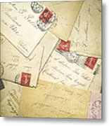 French Correspondence From Ww1 #1 Metal Print