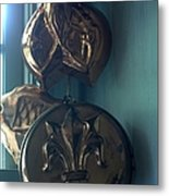 French Country Copper Molds Metal Print