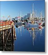 French Creek Reflections Metal Print