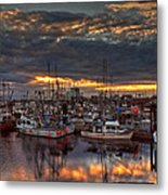 French Creek Sunrise Metal Print