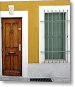 French Doorway Metal Print