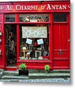 French Gift Shop Metal Print