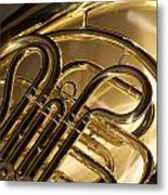 French Horn I Metal Print