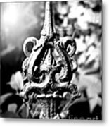 French Iron Metal Print by Perry Webster