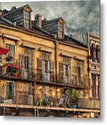 French Market View Metal Print by Brenda Bryant