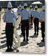 French Military Band Metal Print