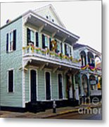 French Quarter Architecture Metal Print