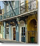 French Quarter Art And Artistry Metal Print