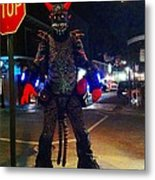 French Quarter Monster Metal Print