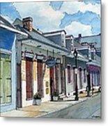 French Quarter Street 211 Metal Print