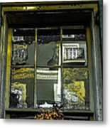French Quarter Window Metal Print