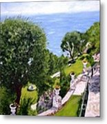 French Riviera Metal Print