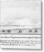 French Squadron, 1778 Metal Print