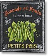 French Vegetables 2 Metal Print