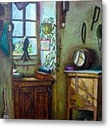 French Work Room Metal Print